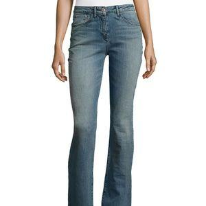 3X1 NYC Armada Jeans Bell Bottom Raw Hem SZ 25
